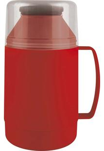 Garrafa Térmica Indie 500Ml Vermelha Mor