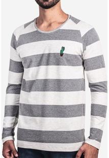 Camiseta Listrada Cactos 101645