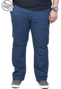 Calça Jeans Plus Size Bigshirts Azul