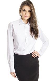 Camisa Básica Calvin Klein - Feminino-Off White