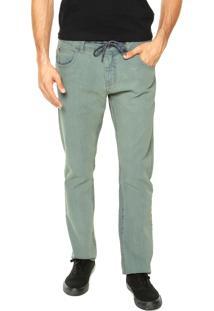 Calça Jeans Element Washed Verde