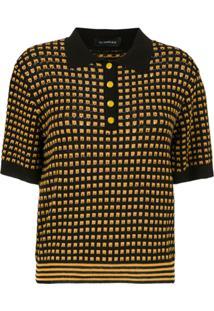 f7e47711d6 Camisa Pólo Preta feminina