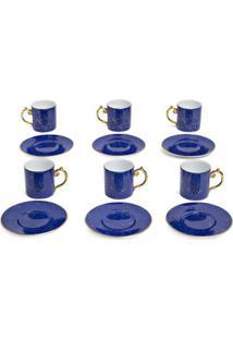 L'Objet Conjunto De Xícaras De Café Expresso Lapis - Azul