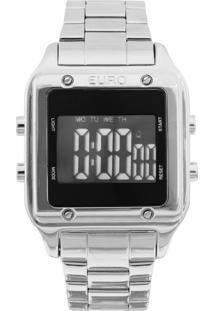 Relógio Fashion Fit Euro Eug2510Ab/3P Prata