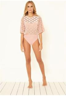 Body Angelica - Carolina Etz - Feminino-Rosa