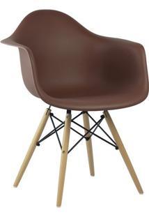 Cadeira Café Charles Eames Wood Daw Em Pp