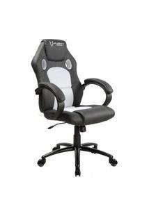 Cadeira Gamer Husky Gaming Snow, Preto E Branco, Cilindro De Gás Classe 4, Base Em Metal, Roda Em Nylon - Hsn-Bw