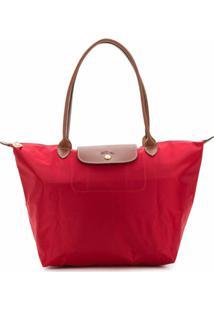 Longchamp Bolsa Tote Le Pliage Grande - Vermelho