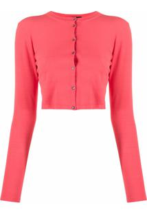 Roberto Collina Button-Down Cardigan - Rosa