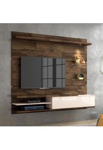 Painel Para Tv 55 Polegadas Destak Deck E Off White 181 Cm