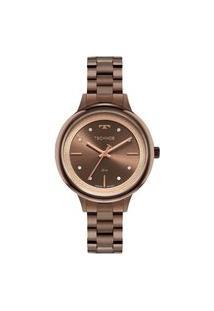 Relógio Technos Feminino Classic Marrom Analógico 2039Da1M