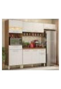 Cozinha Compacta 99101 Com Balcao 93101 Amendola Branco Dama Demobile