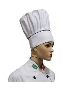 Chapéu Mestre Cuca Chef De Cozinha Tradicional - Wp Confecções