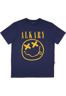 Camiseta Alkary Nirvana Azul Marinho