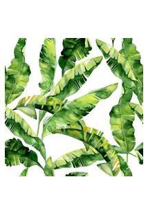Papel De Parede Stickdecor Adesivo Folhas De Bananeira 100Cm L X 300Cm A