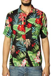 Camisa Andy Roll Clothing Hawaiian Flower