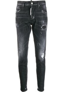 Dsquared2 Calça Jeans Skinny Dan - Preto