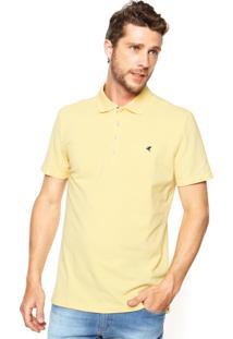 Camisa Polo Malwee Slim Amarela