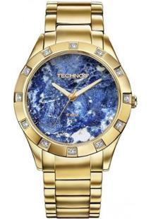 Relógio Technos Feminino Stone Collection - Feminino-Dourado