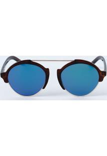 Óculos Feminino De Sol Arredondado Marisa