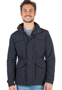 Jaqueta Com Capuz Embutido Taco Masculina - Masculino-Preto