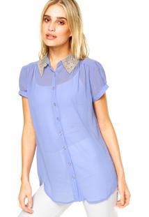 Camisa Mooncity Princesa Azul