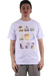 Camiseta Hurley Polaroids Branco