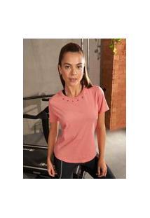 Camiseta Colcci - Rosa Maracaipe