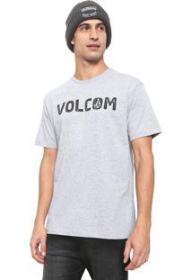 Camiseta Volcom Bold Cinza