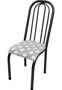 Cadeira Roma Alta Craqueado/Tick Espiral Açomix