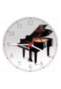 Relógio De Parede Banda Jazz Blues Piano