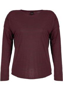 Blusa Plus Size Rovitex Premium Feminina - Feminino-Marrom