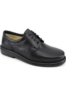 Sapato Opananken Diabetics Line - Masculino-Preto