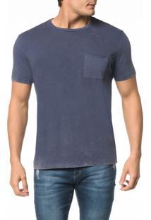 Camiseta Ckj Mc Est. Calvin Jeans Costas - G
