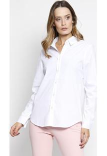 Camisa Lisa- Branca- Intensintens