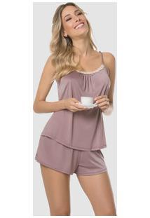 cc083c360 Pijama Feminino Short Doll Liganete Delrio