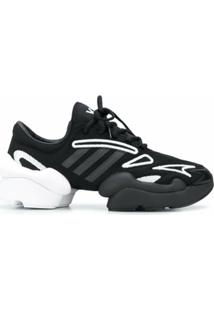 Y-3 Ren Low-Top Sneakers - Preto