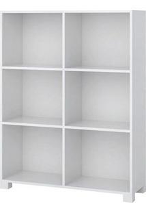 Organizador Com 6 Nichos Treviso Branco - Lc Móveis
