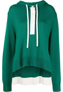 Monse Camiseta De Tricô - Verde