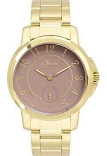 Relógio Condor Co6P28Aa/4J Feminino - Feminino-Dourado