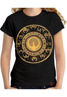 Camiseta Signos De Ouro