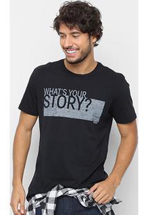 Camiseta Calvin Klein Story Masculina - Masculino