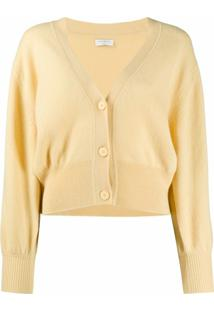 Sandro Paris Cardigan Happy - Amarelo