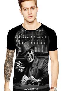 Camiseta Stompy Tattoo Rock Collection 181 Preto