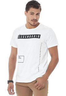 Camiseta Masculina Branco