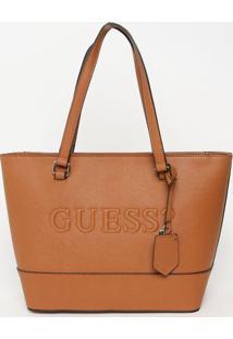 Bolsa Texturizada ''Guess?®''- Marrom Claro- 25X40X1Guess