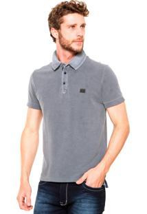 Camisa Polo Sergio K Slim Cinza