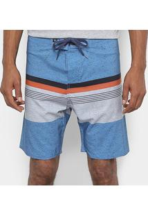 Bermuda Hang Loose Boardshorts Hue Masculina - Masculino-Azul