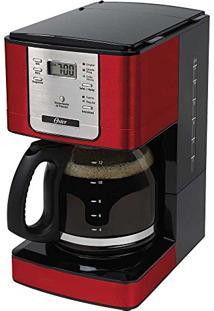 Cafeteira Elétrica Programável 1.8L Vermelho 4401Rd Oster - 110V