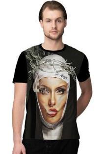 Camiseta Stompy Nun Smoker - Masculino